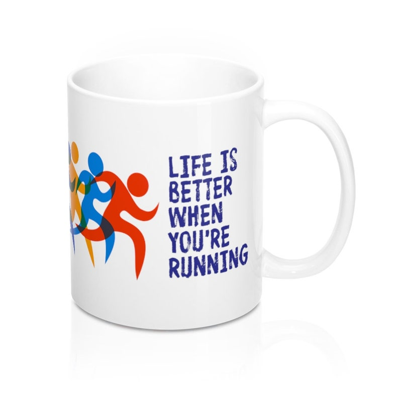 Life Is Better When You're Running 11-oz Mug Marathon image 0