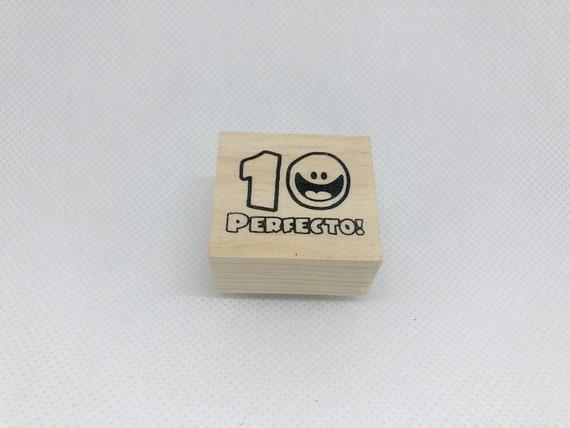 Spanish Bien Hecho  Well Done Teacher Stamp Seal