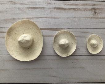 Cowboy Mexican Sombrero Mini Hat Size Wedding Party Favor