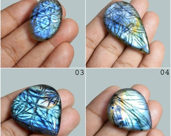 53x23x6mm,88Cts ATTRACTIVE100/%Natural Labradorite Spectrolite Handmade Carving Gemstone Oval Shape For Pendant/&Jewlry making