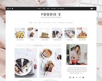 Foodie 2 - Customizable Responsive WordPress Theme for Food Blogs