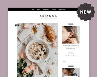 Arianna   Responsive WordPress theme for fashion / food / lifestyle blogs