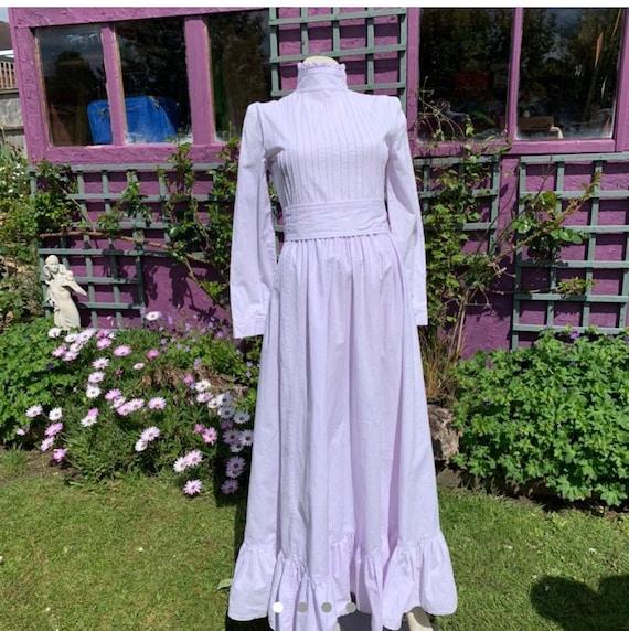 Laura Ashley Maxi Prairie Dress