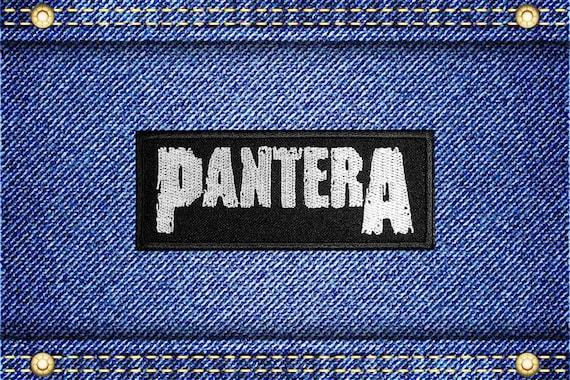 Pantera Patch Groove Thrash Heavy Metal Band Logo