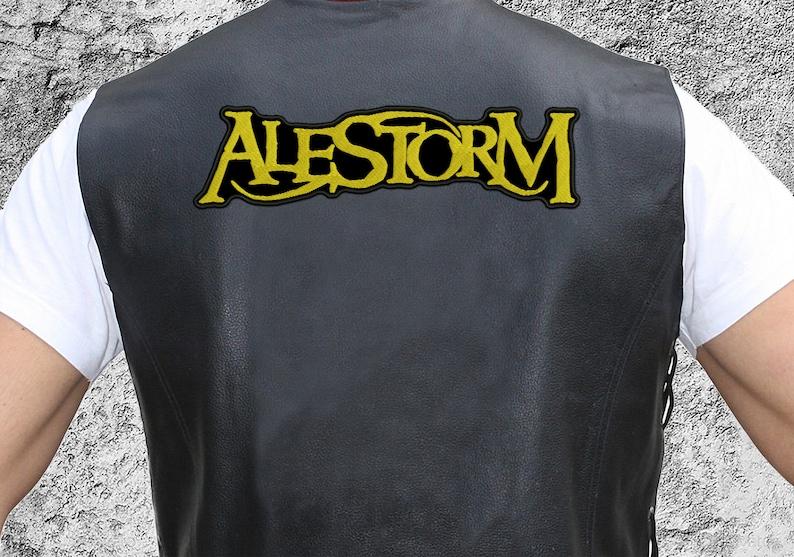 Alestorm big back patch Folk metal band patch.