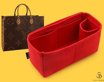 Purse Organizer For Onthego Bag | Tote Bag Organizer | Designer Handbag Organizer | Bag Liner | Purse Insert | Purse Storage