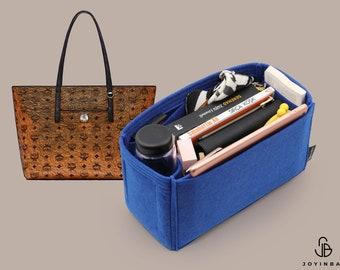Purse Organizer For MCM Anya Shopper Medium   Tote Bag Organizer   Designer Handbag Organizer   Bag Liner   Purse Insert   Purse Storage