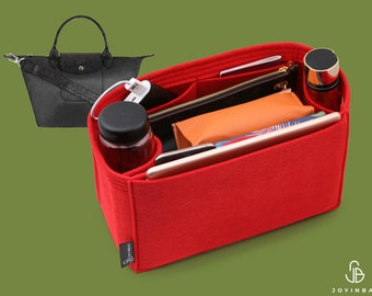 Purse Organizer For Longch. Le Pliage Bags | Tote Bag Organizer | Designer Handbag Organizer | Bag Liner | Purse Insert | Purse Storage