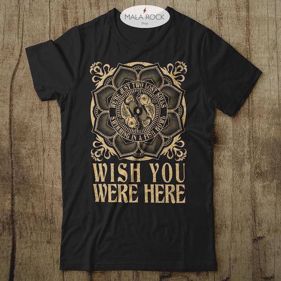 T-Shirt à Manches Longues-Tailles S à XXL Pink Floyd-Wish You Were Here