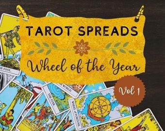 Tarot Spreads DIGITAL Zine - Wheel of the Year Vol 1
