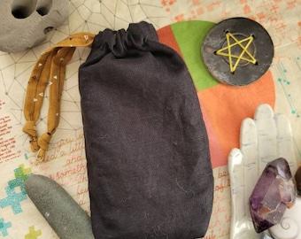 Tarot Crystal Rune Bags