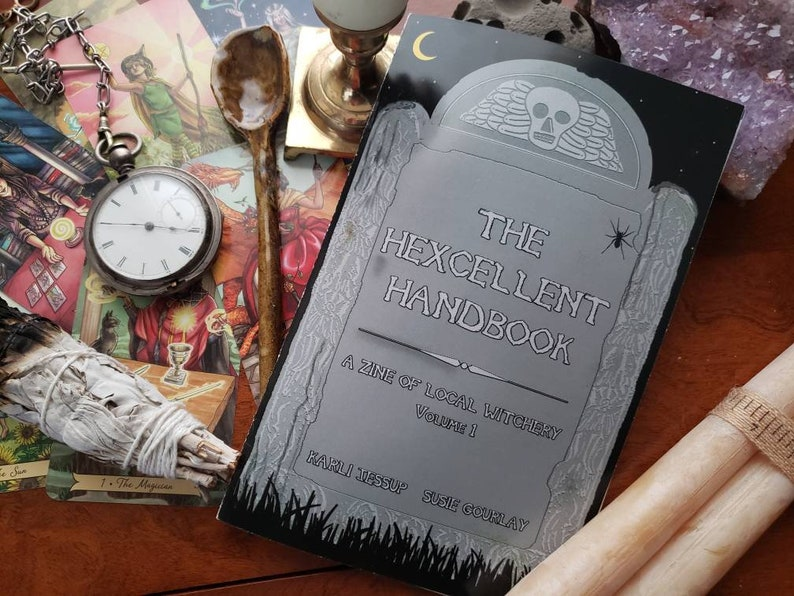 The Hexcellent Handbook: A Zine of Local Witchery Vol 1 FREE image 0