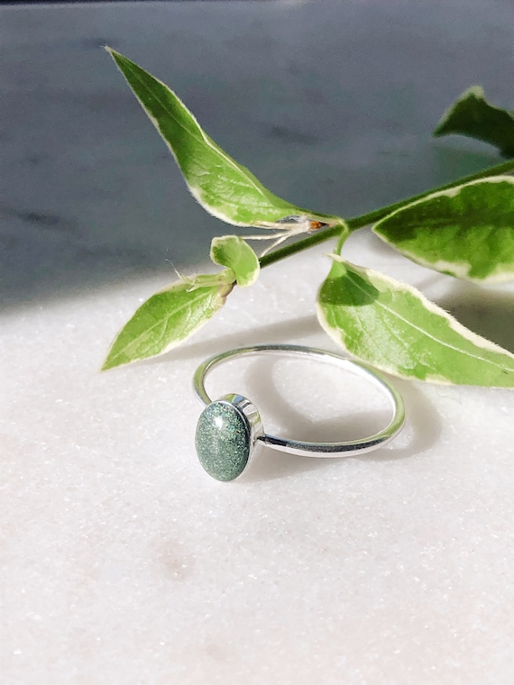 Urn Ring Made with Ashes Custom Memorial Ring Cremation Jewelry Stacking Rings Cremation Ring Pet Memorial Ring Pet Loss Ring Pet Ash