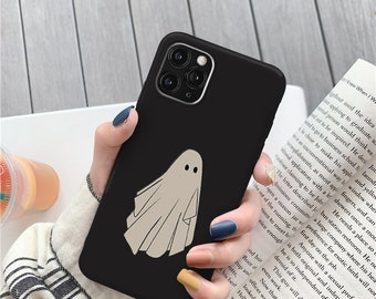 Ghost Halloween iPhone 11 12 13 pro max case iPhone xs x max case iPhone 8 7 plus cases iphone SE 2 case iPhone 11 iphone xr phone case c343