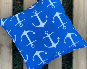 Anchor Throw Pillow perfect for the boat!