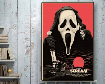 Decoration Poster.Wall art.Home room design.Mag Cover.Terror Horror Decor.9508