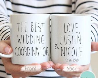 The Best Wedding Coordinator - Wedding Coordinator Gift, Wedding Coordinator Mug, Gift for Wedding Coordinator, Custom Wedding Planner