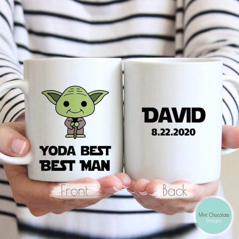 Yoda Best Best Man Cup