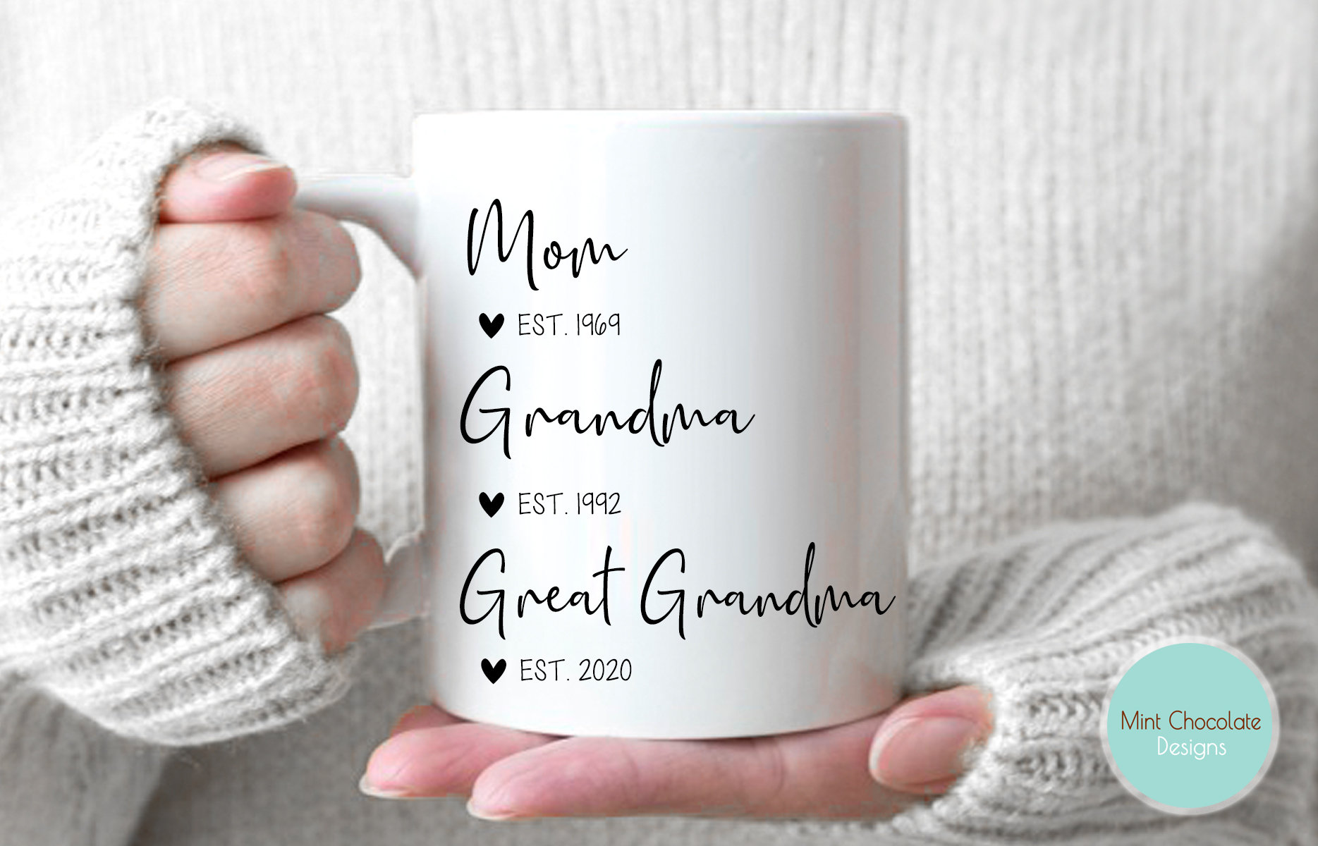 Pregnancy Announcement Mother/'s Day Gift for Grandma Great Grandma Gift Blessed to be Mom Grandma Great Grandma Shirt