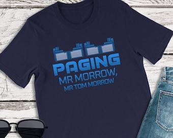 Disney Shirts, Paging Mr Morrow Shirt, Peoplemover Shirt, Disney Family Shirt, Disneyland Shirt, Disney World Shirts, Disney Vacation Shirts
