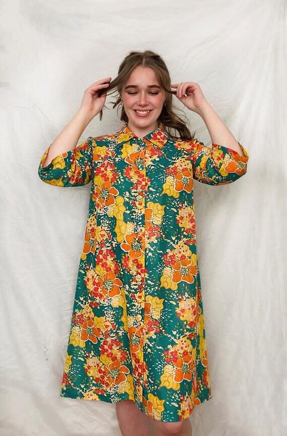 1960s coat dress .