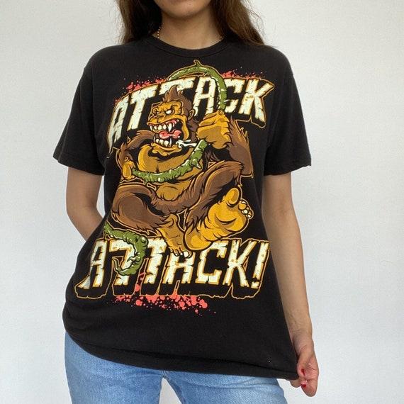 Tultex 'Attack Attack' Rock T-Shirt
