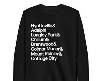 PG Towns Fleece Pullover Hyattsville+