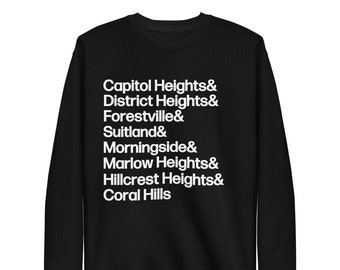 PG Towns Fleece Pullover Capitol Heights+
