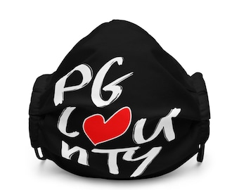 PG County Love Face Mask
