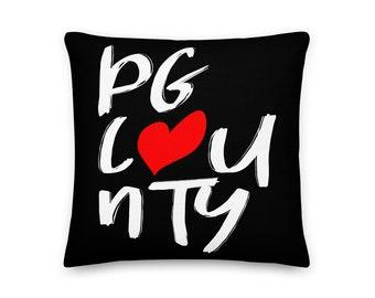 PG Love Throw Pillow