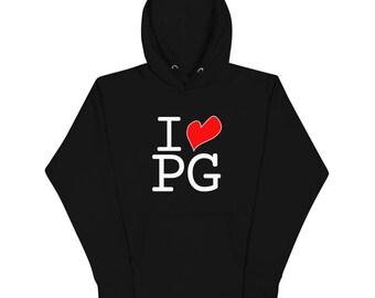 I LOVE PG Hoodie