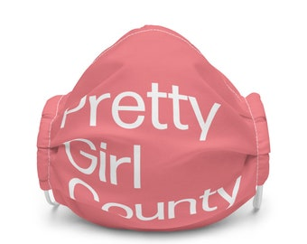 Pretty Girl County Face Mask