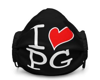 I LOVE PG Face Mask