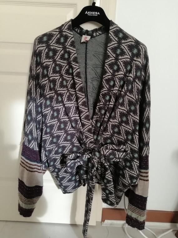 Kenzo wool kimono