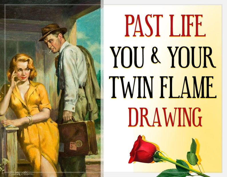 Twin Flame Past Life Drawing You and Your Twin Flame From