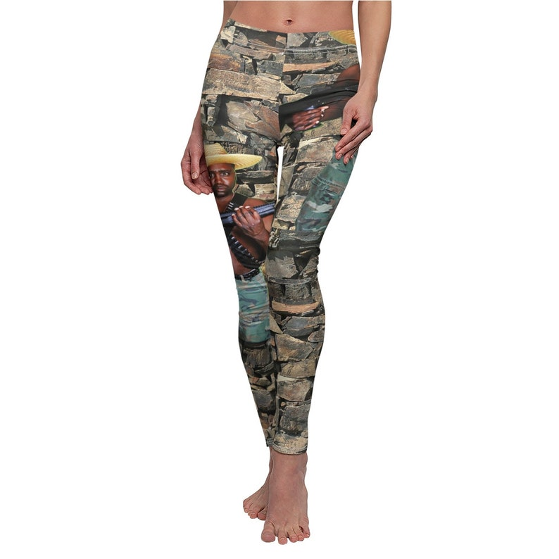 Reh Dogg Women's Cut & Sew Casual Leggings image 0