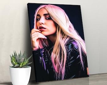 Ava Max Custom Print Art Poster Wall Decor