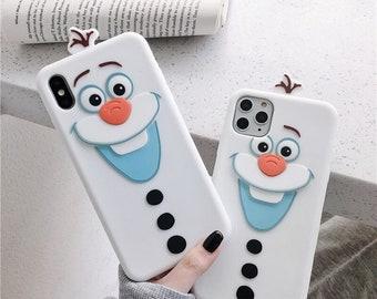 Funda para iPhone 11 Oficial de Disney Olaf Transparente - Frozen