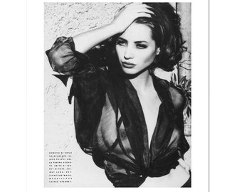 CHRISTY TURLINGTON 80s 90s Poster Wall Art Home Photo Print 24x36 inches 2
