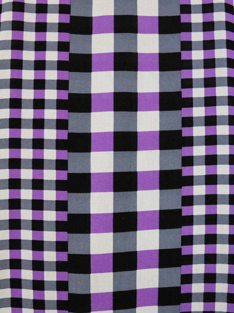 Indian Vintage Kaftan for Women Kaftan Dress Plaid Cotton Kaftan Purple Caftan Rayon Kaftan Maxi Dress Kaftan Cotton Caftan Kaftan Beach