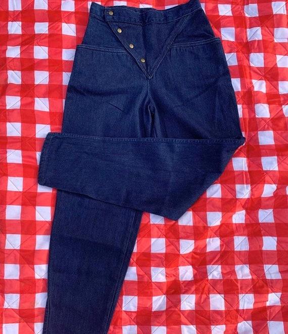 1980s Landlubber Button Jeans - image 3