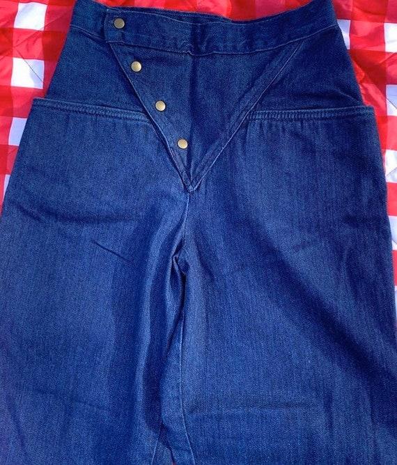 1980s Landlubber Button Jeans - image 2