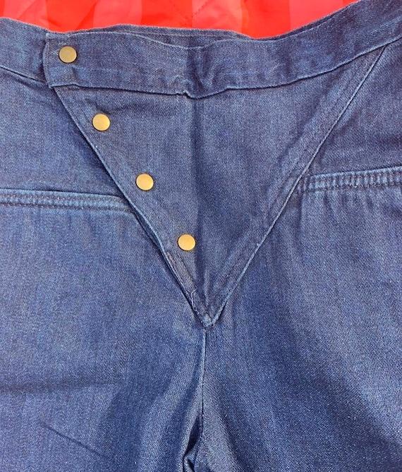 1980s Landlubber Button Jeans