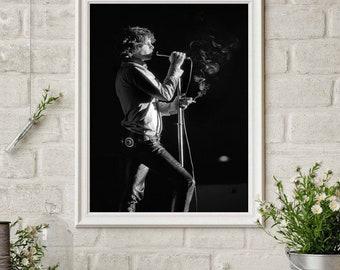 JIM MORRISON THE DOORS CLASSIC LEGEND SINGER WALL ART PRINT VINTAGE A4 A3 SIZE