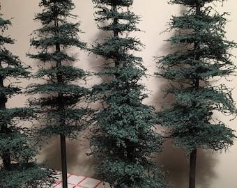 Pine tree conifer 5 Tree Set