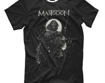 MASTODON CRACK THE SKYE PROGRESSIVE STONER METAL LETHARGY RARE NEW BLACK T-SHIRT