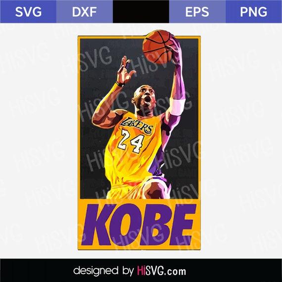 Kobe Bryant Yellow Mini Figure Basketball Legend Mamba NBA KB 24 RIP UK Seller