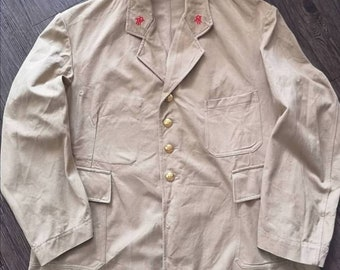 Og 50s French postman jacket vintage Made in France