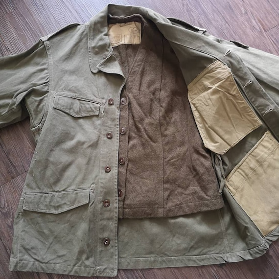 Og 50s French Army M47 liner Deadstock