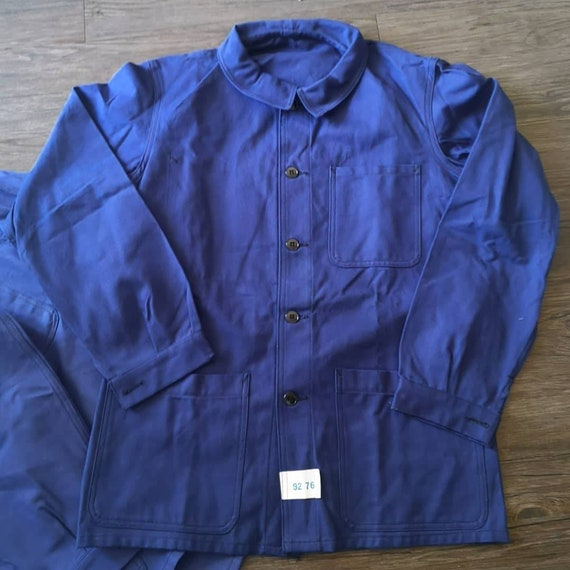 Og 70s French Army chore jacket twill cotton Deads